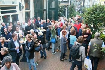 The Seamstress Bergstraat opening sculptor Caroline Kampfraath