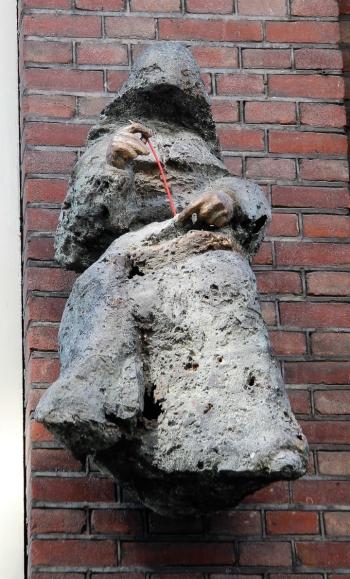The Seamstress sculptor Caroline Kampfraath