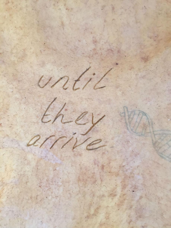 Under my skin - poem detail - Caroline Kampfraath