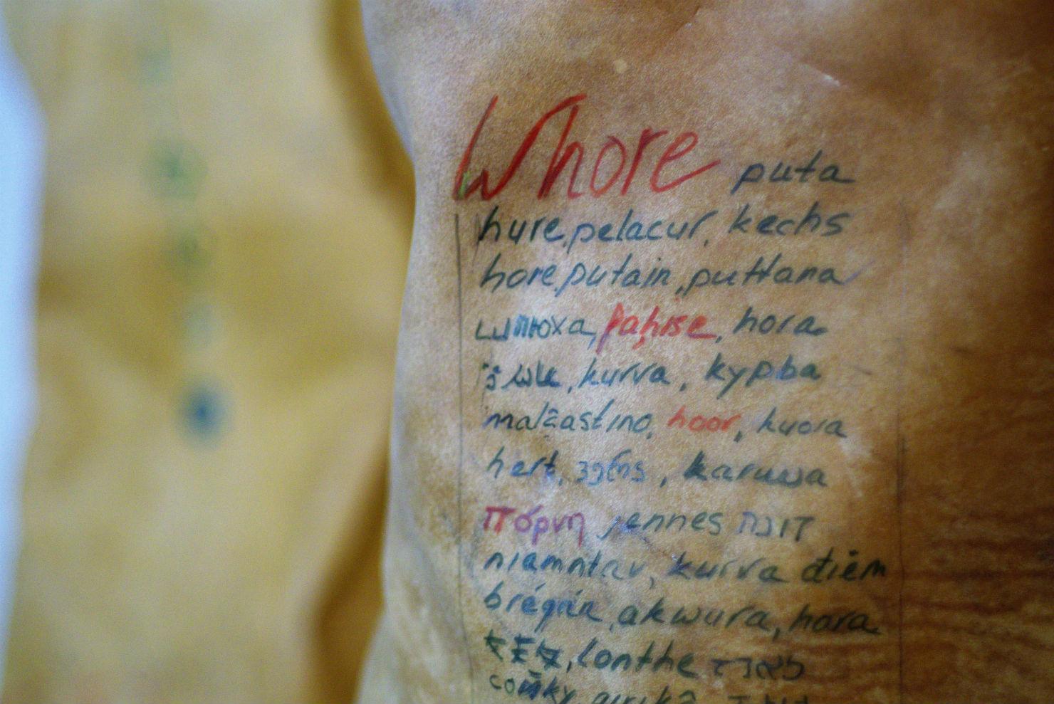 Under My Skin detail - Caroline Kampfraath sculptor